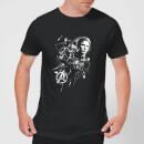 avengers-endgame-mono-heroes-herren-t-shirt-schwarz-xl-schwarz