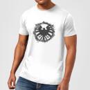 marvel-avengers-agent-of-shield-logo-brushed-men-s-t-shirt-white-4xl-wei-, 17.99 EUR @ sowaswillichauch-de