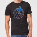 avengers-endgame-heroic-logo-herren-t-shirt-schwarz-xl-schwarz