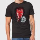 avengers-endgame-iron-man-brushed-men-s-t-shirt-black-s-schwarz