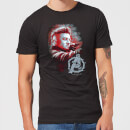 avengers-endgame-hawkeye-brushed-herren-t-shirt-schwarz-3xl-schwarz
