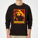 avengers-endgame-rocket-poster-sweatshirt-black-4xl-schwarz