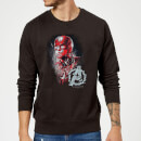 avengers-endgame-captain-america-brushed-sweatshirt-schwarz-4xl-schwarz