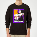 avengers-endgame-thanos-poster-sweatshirt-black-5xl-schwarz