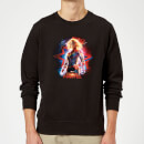 captain-marvel-poster-sweatshirt-black-s-schwarz