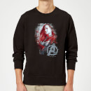 avengers-endgame-captain-marvel-brushed-sweatshirt-schwarz-xl-schwarz
