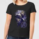 avengers-endgame-thanos-brushed-damen-t-shirt-schwarz-4xl-schwarz