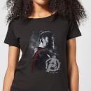 avengers-endgame-thor-brushed-damen-t-shirt-schwarz-3xl-schwarz