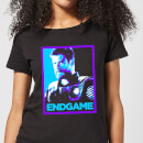 avengers-endgame-thor-poster-women-s-t-shirt-black-s-schwarz