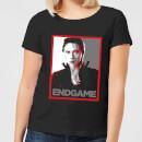 avengers-endgame-black-widow-poster-women-s-t-shirt-black-s-schwarz