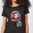 avengers-endgame-hawkeye-brushed-damen-t-shirt-schwarz-3xl-schwarz