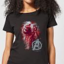 avengers-endgame-rocket-brushed-damen-t-shirt-schwarz-4xl-schwarz