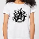 avengers-endgame-hero-circle-damen-t-shirt-wei-xs-wei-