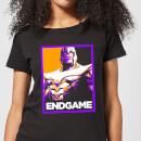avengers-endgame-thanos-poster-women-s-t-shirt-black-s-schwarz