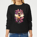 avengers-endgame-splatter-damen-sweatshirt-schwarz-xs-schwarz