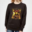 avengers-endgame-distressed-sunburst-damen-sweatshirt-schwarz-xs-schwarz