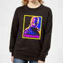 avengers-endgame-nebula-poster-women-s-sweatshirt-black-m-schwarz