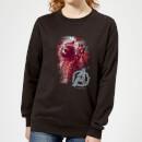 avengers-endgame-rocket-brushed-damen-sweatshirt-schwarz-xs-schwarz