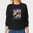avengers-endgame-character-montage-damen-sweatshirt-schwarz-s-schwarz