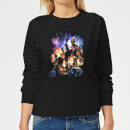 avengers-endgame-character-montage-damen-sweatshirt-schwarz-xs-schwarz
