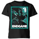 avengers-endgame-war-machine-poster-kids-t-shirt-black-5-6-jahre-schwarz