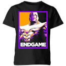 avengers-endgame-thanos-poster-kids-t-shirt-black-5-6-jahre-schwarz