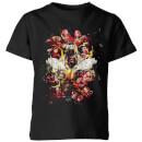 avengers-endgame-distressed-thanos-kids-t-shirt-schwarz-3-4-jahre-schwarz
