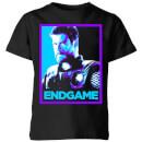 avengers-endgame-thor-poster-kids-t-shirt-black-5-6-jahre-schwarz