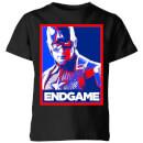 avengers-endgame-captain-america-poster-kids-t-shirt-black-5-6-jahre-schwarz