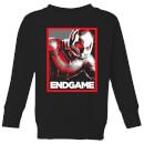 avengers-endgame-ant-man-poster-kids-sweatshirt-black-5-6-jahre-schwarz