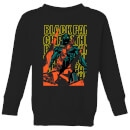 marvel-avengers-black-panther-collage-kids-sweatshirt-black-11-12-jahre-schwarz