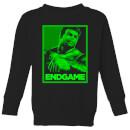 avengers-endgame-hulk-poster-kids-sweatshirt-black-5-6-jahre-schwarz