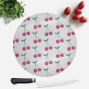 cherry-pattern-round-chopping-board
