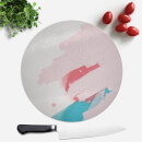 wish-wash-with-pink-scribble-round-chopping-board