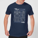 Transformers Optimus Prime Schematic T-Shirt