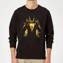 shazam-lightning-silhouette-sweatshirt-black-5xl-schwarz