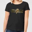 shazam-gold-logo-women-s-t-shirt-black-m-schwarz