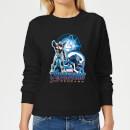 avengers-endgame-war-machine-suit-damen-sweatshirt-schwarz-m-schwarz