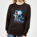 avengers-endgame-rocket-suit-damen-sweatshirt-schwarz-4xl-schwarz