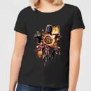 avengers-endgame-explosion-team-damen-t-shirt-schwarz-5xl-schwarz
