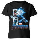 avengers-endgame-rocket-suit-kids-t-shirt-schwarz-3-4-jahre-schwarz