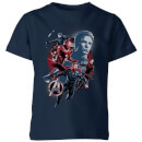avengers-endgame-shield-team-kids-t-shirt-navy-blau-7-8-jahre-marineblau