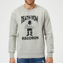death-row-records-logo-dark-sweatshirt-grey-s-grau