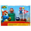 Super Mario Acorn Plains Diorama Set