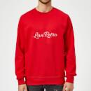 lanre-retro-lanretro-sweatshirt-red-s-rot