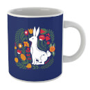 scandi-rabbit-pattern-mug