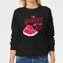 the-rarest-of-them-all-women-s-sweatshirt-black-xs-schwarz