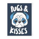 pugs-kisses-art-print-a4
