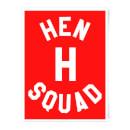 hen-h-squad-art-print-a4