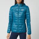 Emporio Armani EA7 Women's Train Core Lady Light Down Packable Jacket - Blue Coral